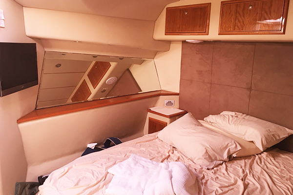 Image of Bedroom 1 on the Kaizen 52 fishing vessel